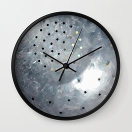 Pasta Strainer Wall Clock