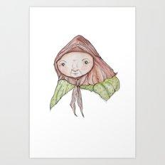 Grannie Art Print