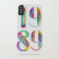1989 iPhone & iPod Cases featuring 1989 by Christina Guo