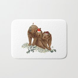christmas bears Bath Mat