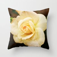 romance Throw Pillows featuring Romance by Clare Bevan Photography