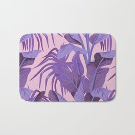 Tropical '17 - Starling [Banana Leaves] Bath Mat