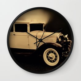 Ford Model A Hotrod Wall Clock