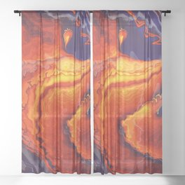 Lava Sheer Curtain