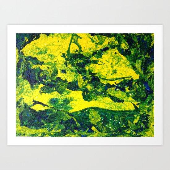 Moss Skin I Art Print