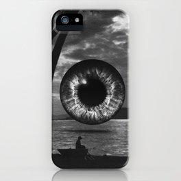 Night landscape iPhone Case