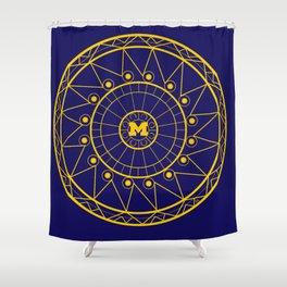 Michigan Mandala Shower Curtain