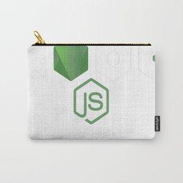 NodeJS JavaScript Programmer Carry-All Pouch