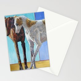 Paisley Paws de Deux Stationery Cards