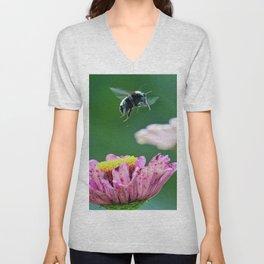 Flight of the Bumblebee Unisex V-Neck