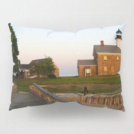 Norwalk,Sheffield Island, Lighthouse, Connecticut Pillow Sham