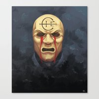 dishonored Canvas Prints featuring Weeping Overseer - Dishonored by LunarScreams