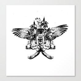Deathshead - Belladonna Nightshade Canvas Print