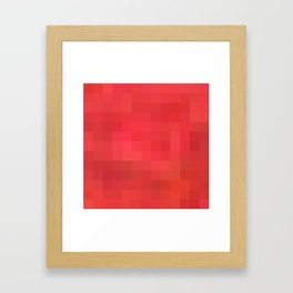 Re-Created Colored Squares No. 29 by Robert S. Lee Framed Art Print