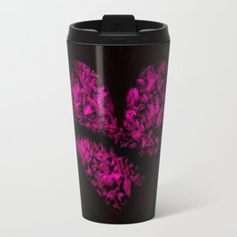 Ice Pink Heart Travel Mug