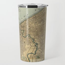 Vintage Map of Cleveland OH (1894) Travel Mug