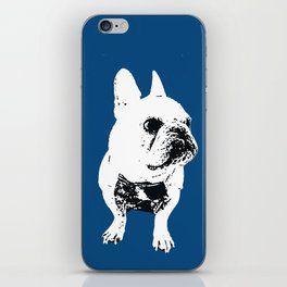 George the cutest French Bulldog iPhone Skin