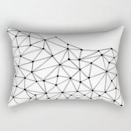 Polygon Rectangular Pillow
