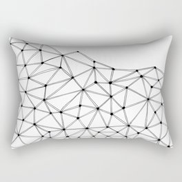 Polygon Rectangular Pillow