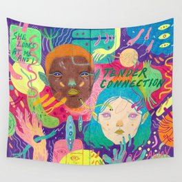 glances Wall Tapestry