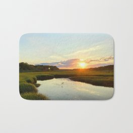 Sunset on Jones Road Bath Mat