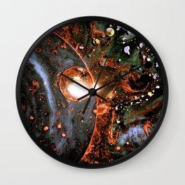 Exploration Of Hidden Cosmic Wonders Wall Clock