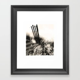 art in the sand series 1 Framed Art Print