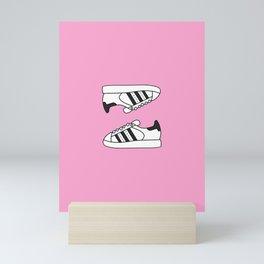 Pink Stars Mini Art Print