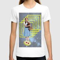 thrones T-shirts featuring Yellow brick road by Laura Nadeszhda