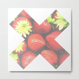 X Fresa Metal Print
