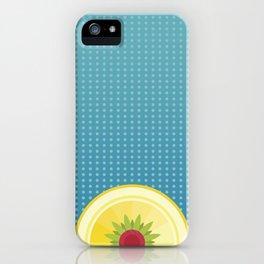 Blue Hawaiian iPhone Case