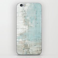 bluish green iPhone & iPod Skin