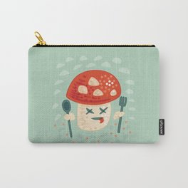 Funny Cartoon Poisoned Mushroom Carry-All Pouch