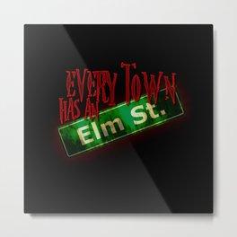 Every Town Elm Street Metal Print