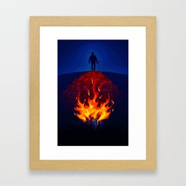 Jawbone Framed Art Print
