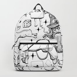 Antique Magic Starter Pack Black and White Backpack