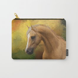 Palomino horse Carry-All Pouch