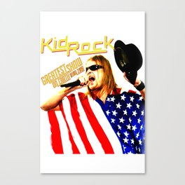 KIDROCK TOUR WORLD 2018. Canvas Print