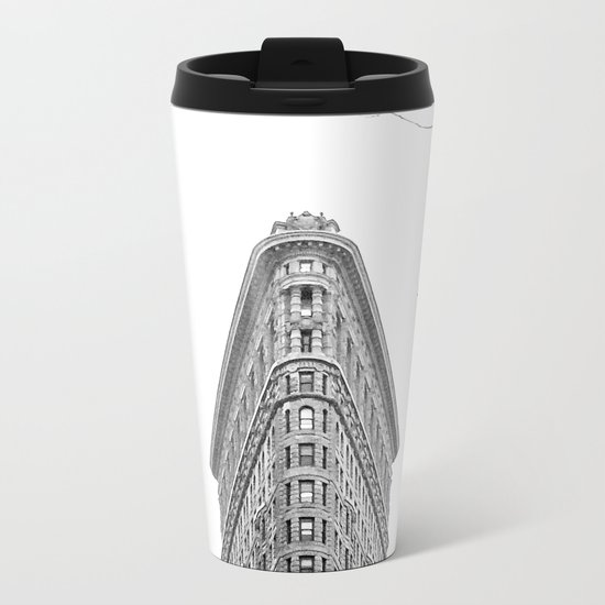 Flatiron Building NYC Metal Travel Mug