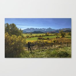 Mt. Sneffels Vista Canvas Print