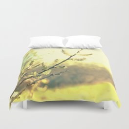 Branch with buds 2 Duvet Cover