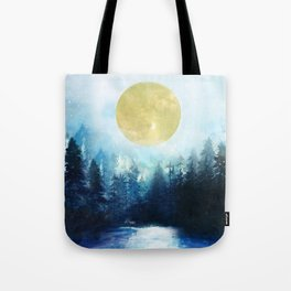 Winter Night 3 Tote Bag