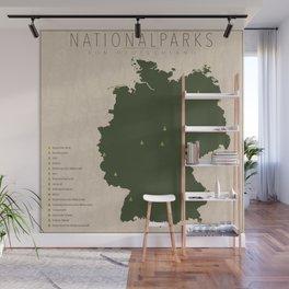 Nationalparks von Deutschland Wall Mural