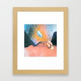 Sogni e segni Framed Art Print