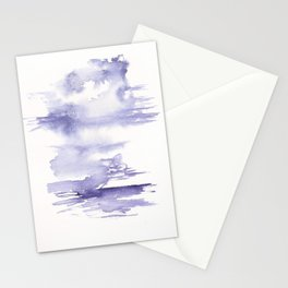 150528 Watercolour Shadows Abstract 124 Stationery Cards