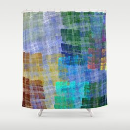 Abstract Fabric Designs 4 Duvet Covers & Pillows Shower Curtain