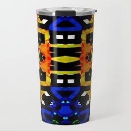 Abstract Piano Mash Travel Mug