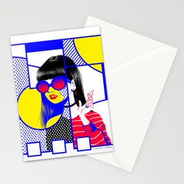pop art (collab) Stationery Cards