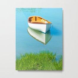 serene boat scene#3 Metal Print