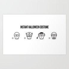 Instant Costume - Spock Art Print